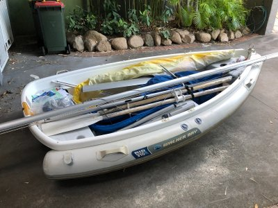 Walker Bay Rid 310 / WB10F with inflatable tube skirt
