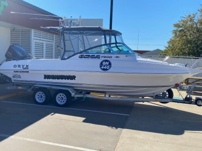 Oryx Orca 7500 All Rounder GREAT FOR THE FAMILY AND FISHING