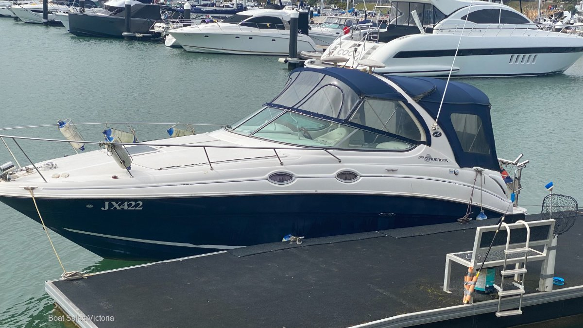 Sea Ray 315 Sundancer 2005 TWIN V6 with BOW THRUSTER
