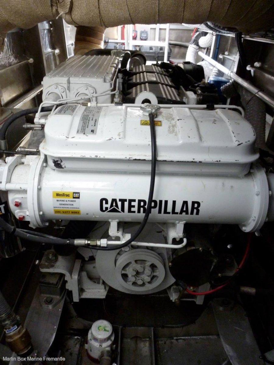 Alucraft 65 Jet Power Cat (Twin C12 Caterpillar's)