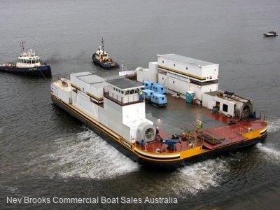 Hovercraft Barge