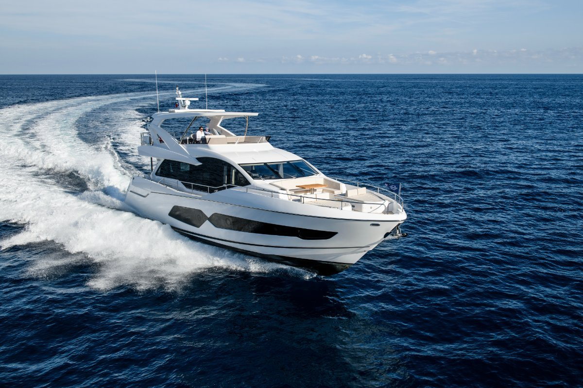 2021 New Sunseeker 76 Yacht Stock boat available now landing in October