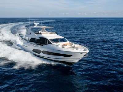 Sunseeker 76 Yacht Stock boat available now landing in October