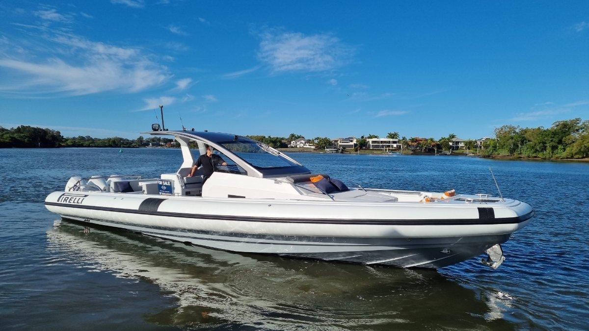 2021 New Pirelli TecnoRib 42 Stock Boat Available in QLD