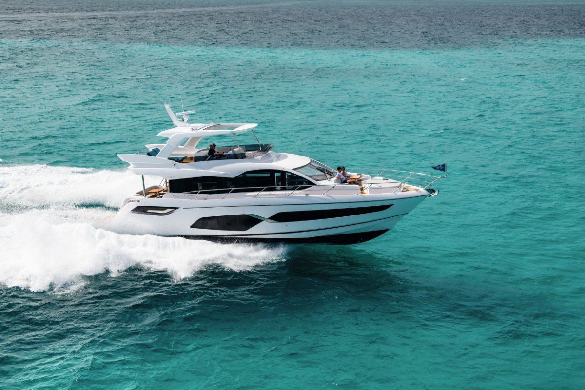 2021 New Sunseeker Manhattan 68 Stock Boat Available now in QLD