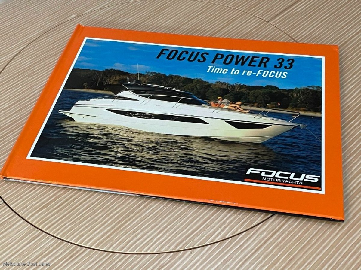 Focus Power 33 - NEW - 2 CABINS, 2 ENGINES, HARDTOP