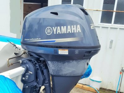 25hp yamaha 2010 used but well looked after