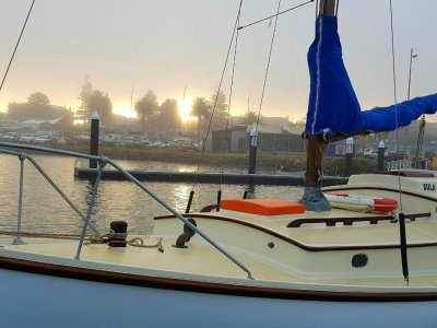 Harrison Butler Classic NZ Kauri Timber Yacht