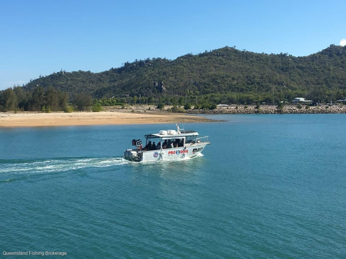 Cairns Custom Craft 9m Dive and Charter Vessel LV338
