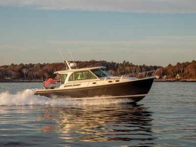 Back Cove 39O Maine USA Built NEW MODEL FOR 2022 * OUTBOARD *