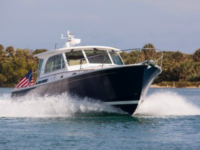 Back Cove 41 Maine, USA Downeast Built Cruising Power Boat