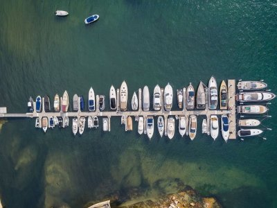 Double Bay marina berth N1