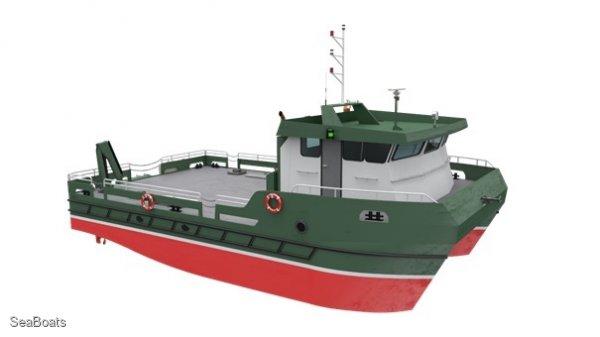 15.5m Catamaran Workboat
