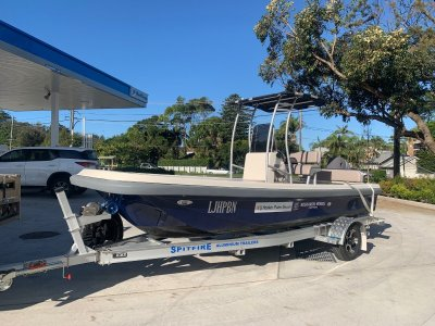 Spitfire 625-1,500 kg Anodised Aluminium- 316 Stainless Steel Boat Trailer