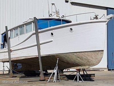 Norman Wright Bay Cruiser 38foot Timber