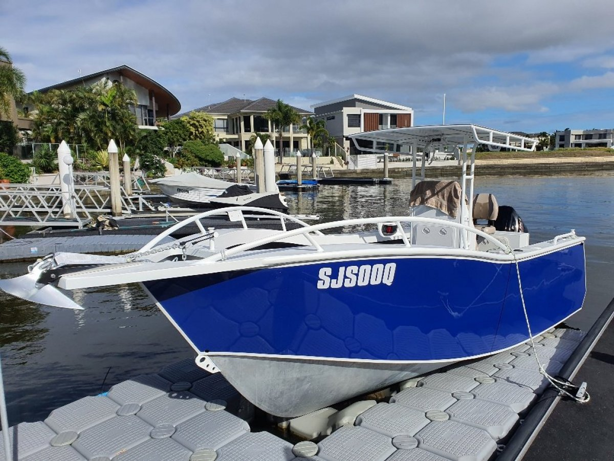 New Sabrecraft Marine CC6400 Plate Ally Offshore
