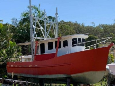 TS461 9.9m East Coast Steel Trawler