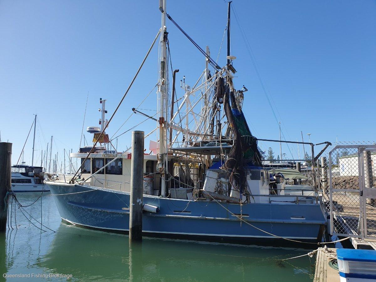 TS462 12m Timber Commercial Prawn Trawler