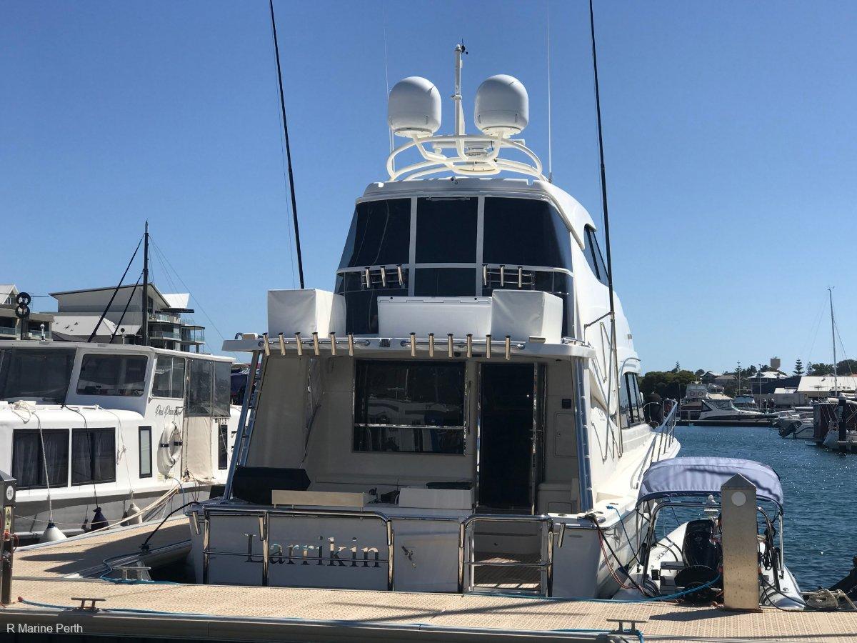 Riviera 56 Enclosed Flybridge Series 2 Custom Fitout
