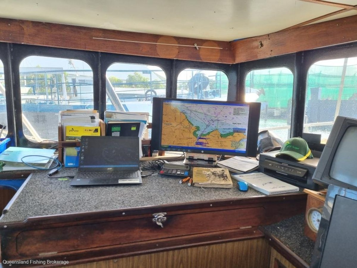 TS463 23m Steel Prawn Trawler