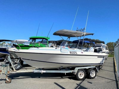 Seafarer Vogue 5.5 Centre Console GREAT FOR THE FAMILY AND FISHING