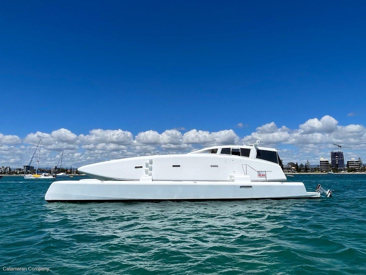 Oram Custom 62 Electric Power Catamaran