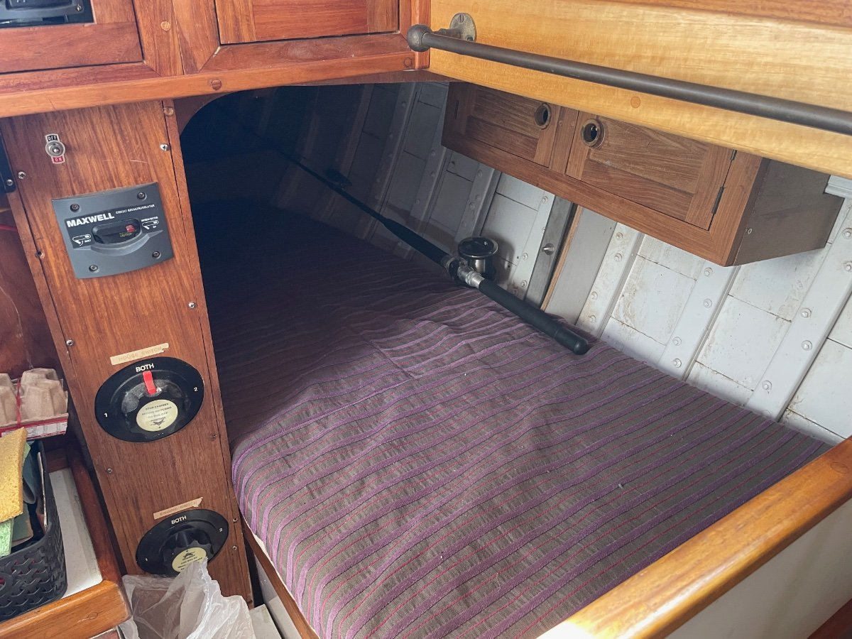 Ned Jack /Jack Brothers 42ft Timber ketch restored.