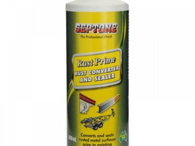 SEPTONE RUST PRIME - RUST CONVERTER AND SEALER- 500ML= $ 39.00