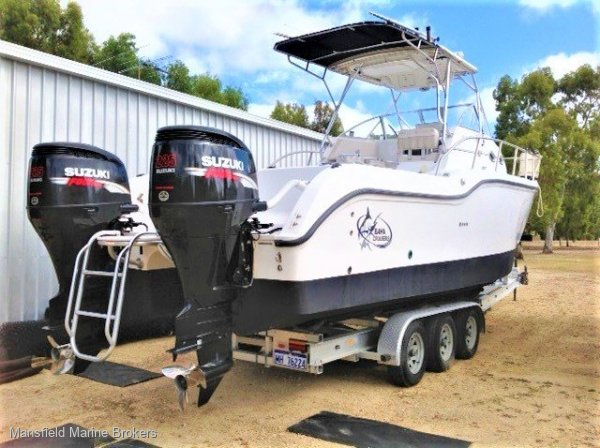 Baha Cruisers 296 King Cat With Trailer