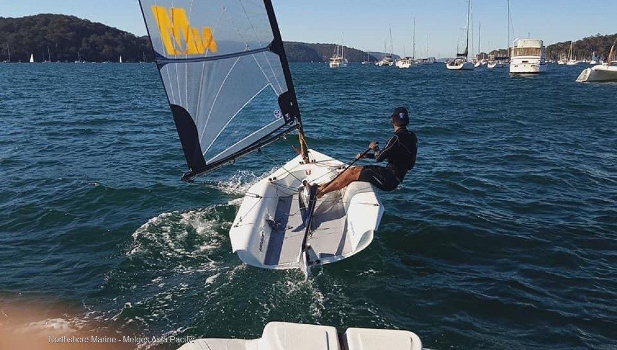 Melges 14 - Dinghy new design with carbon fibre spars:Melges 14 Australia