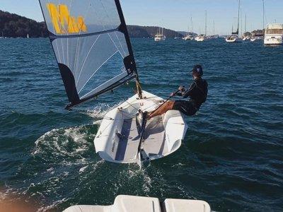 Melges 14 - Dinghy new design with carbon fibre spars