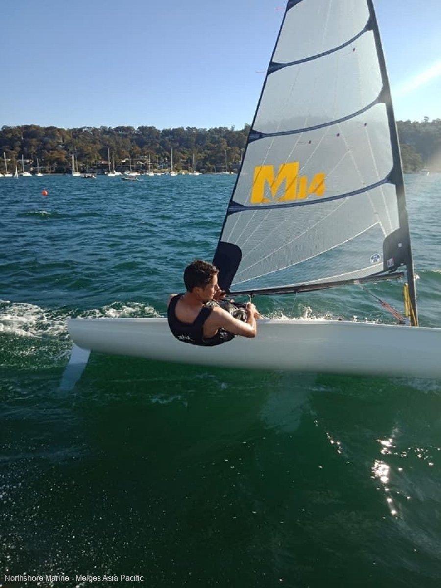 Melges 14 - Dinghy new design with carbon fibre spars:Melges 14 Sydney