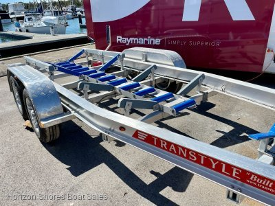 NEW 2019 Alloy Transtyle Trailer - Been put in the water twice