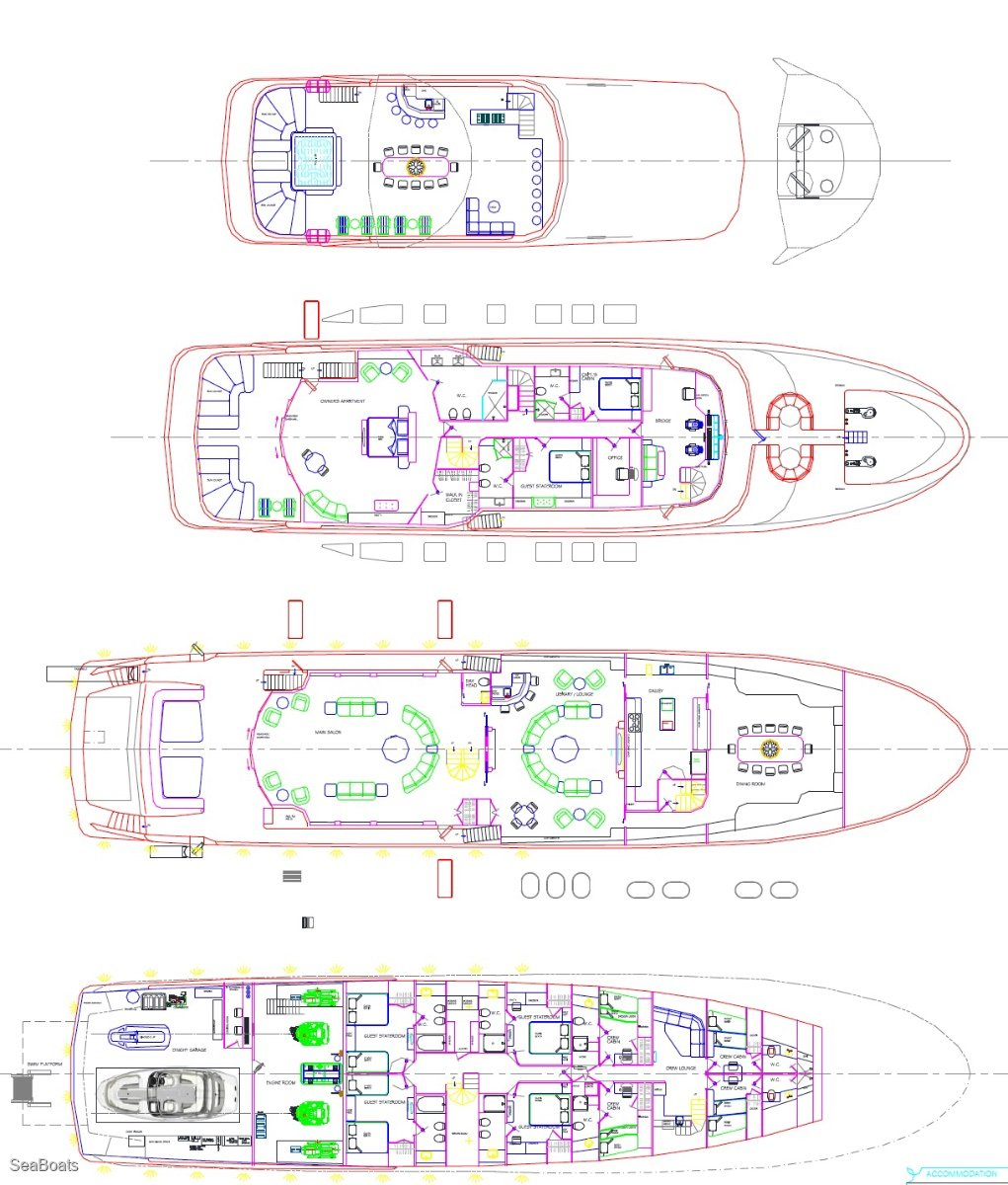 45m Motor Yacht