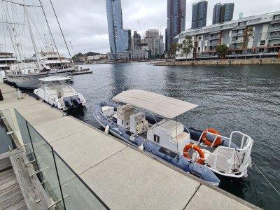 Zodiac Hurricane Milpro Proluxe 878 Superyacht Dive Tender AMSA Commercial Survey