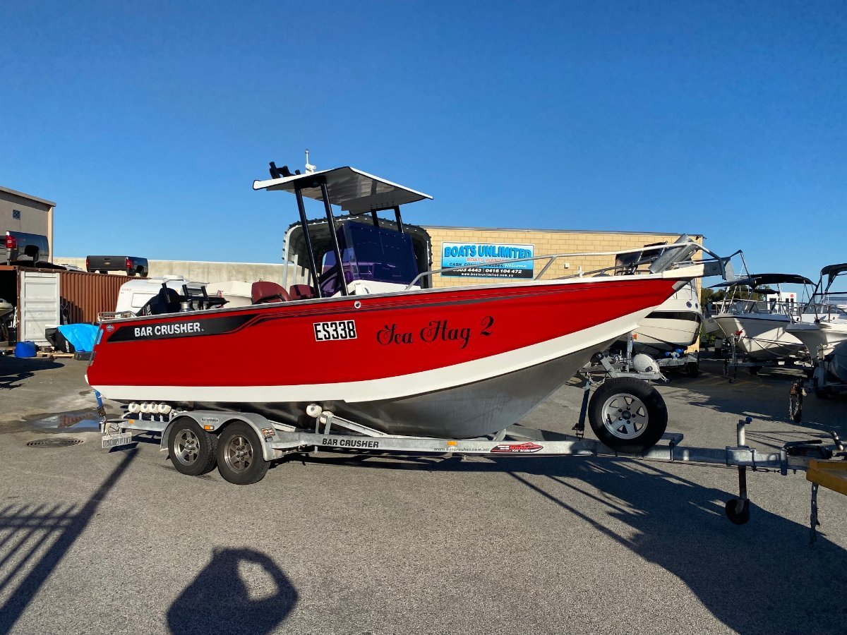 Bar Crusher 680WR PLATE ALLOY OFFSHORE FISHING RIG