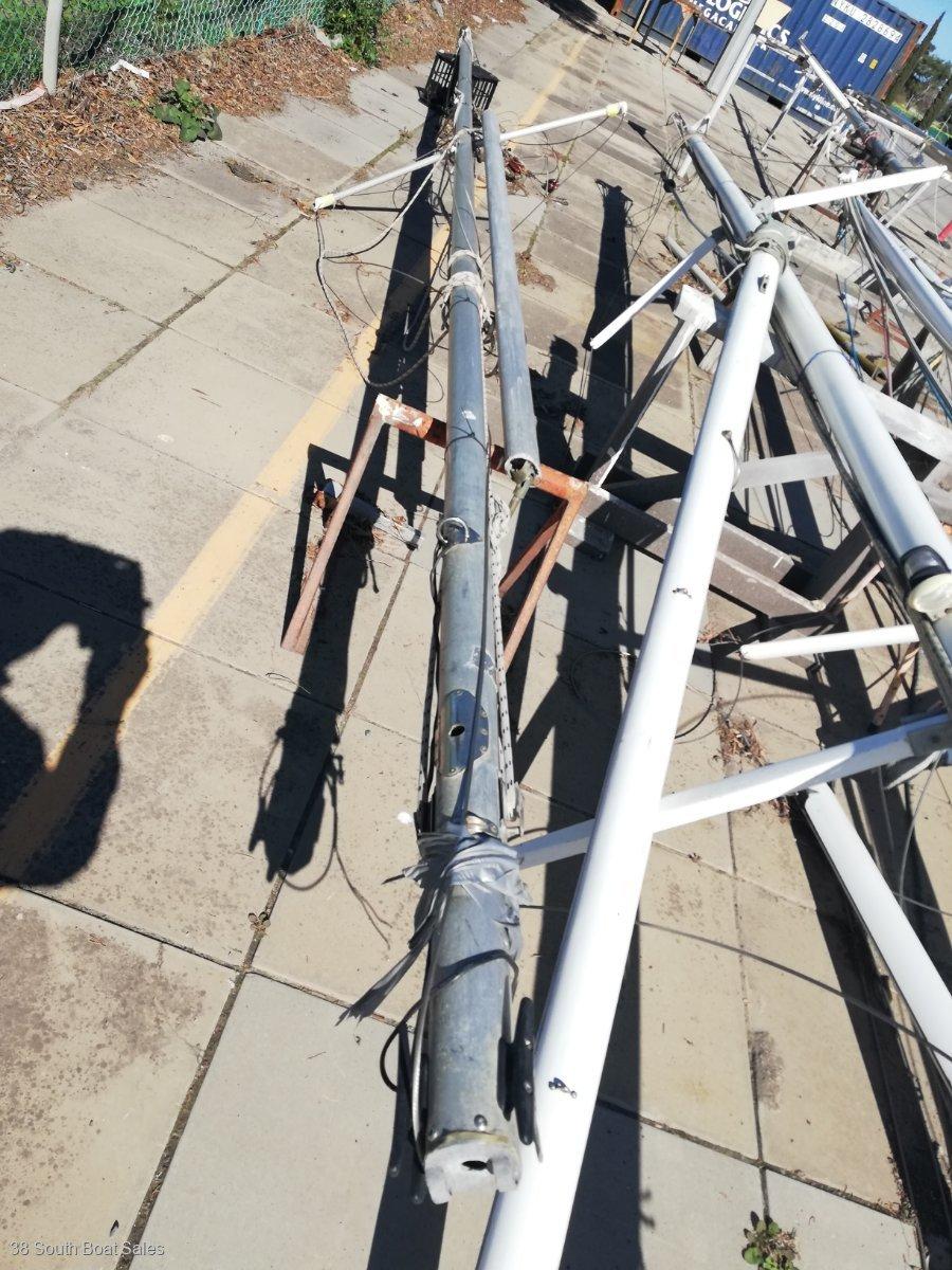 Alloy Mast& Boom 7.34 m