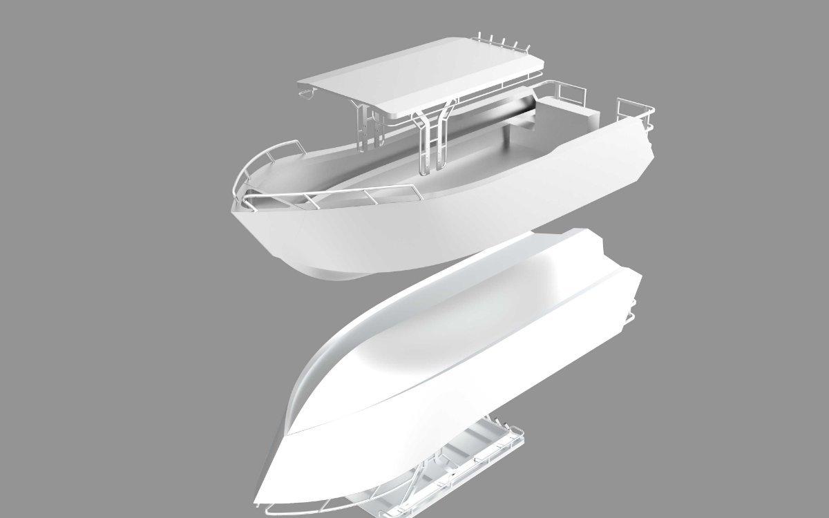 New Center Console CC7400 Custom Built Plate Ally