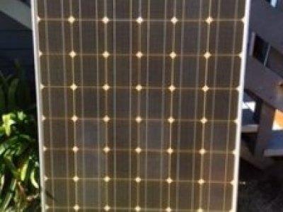 185 watt Sharp Solar panels