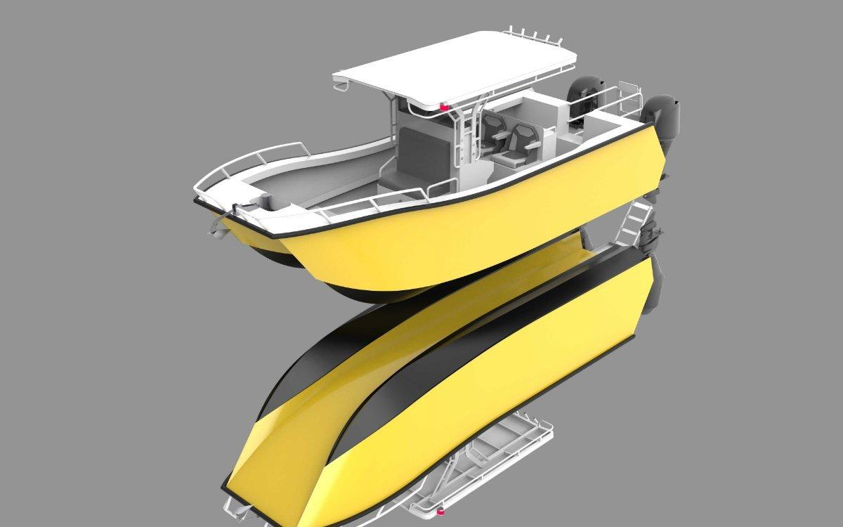 New Sabrecraft Marine CAT 7400 Catamaran