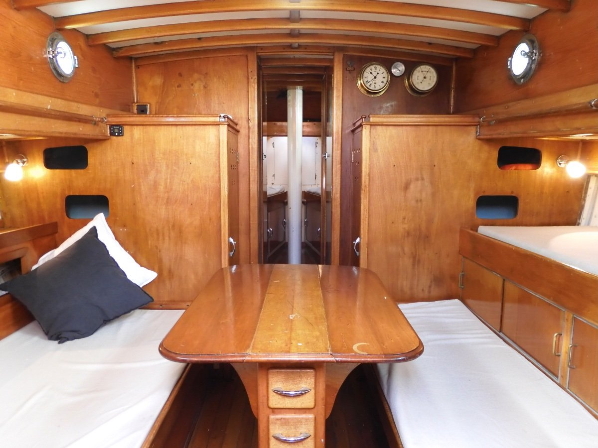 Searle 39ft Classic Canoe Stern Jarrah Ketch EXCELLENT CONDITION SUPERBLY MAINTAINED & UPGRADED