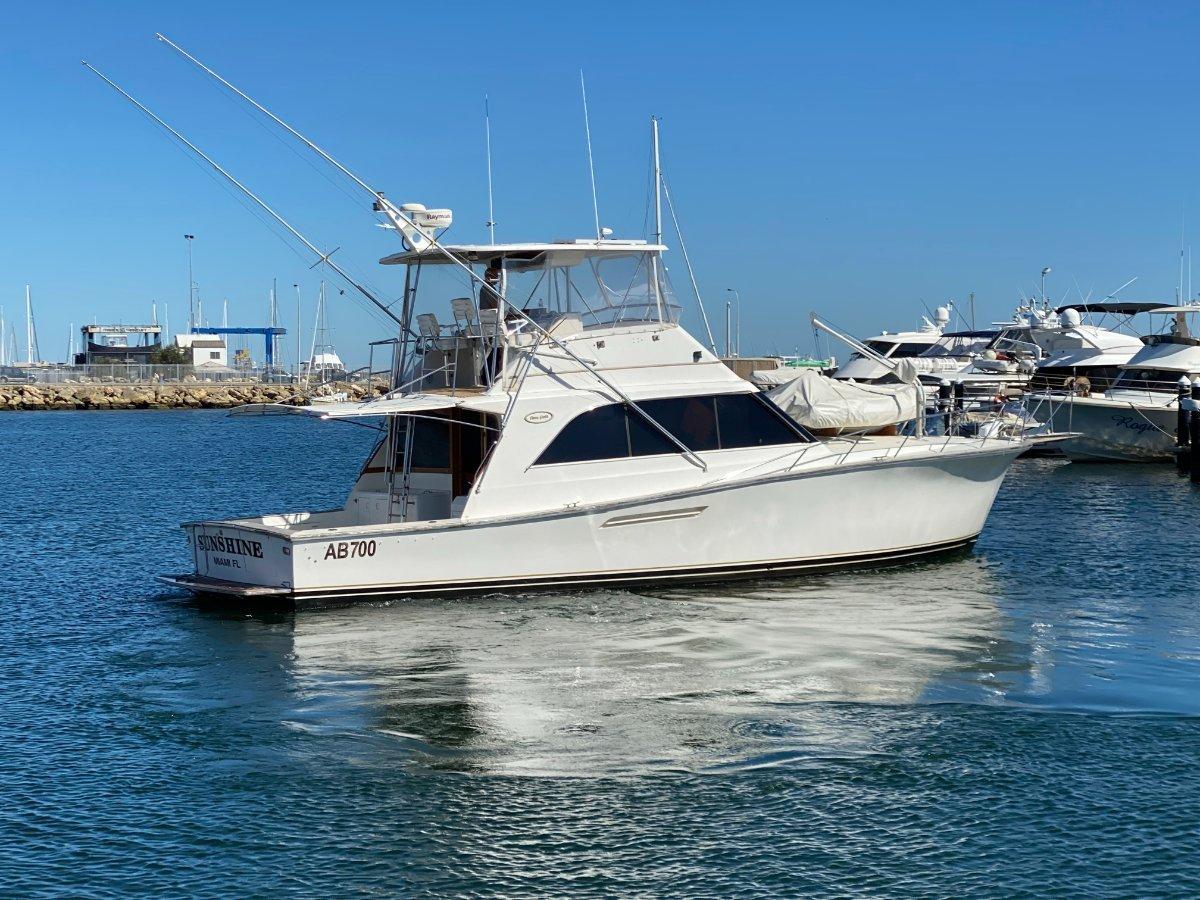 "Ocean Yachts 48 Super Sport "" NEW ENGINES "":OCEAN YACHT 48 SUPER SPORT by YACHTS WEST MARINE ph 9335 7788"