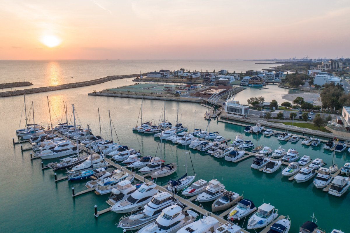 Berths available at Port Coogee Marina:Sunset Port Coogee Marina