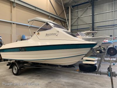 Stejcraft 470 Sports Fisher Cuddy Cabin Great Sea-going boat, Ready for Summer