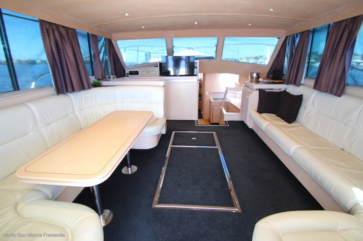 Cresta 46 Sports Fisher with New Engines and Genset