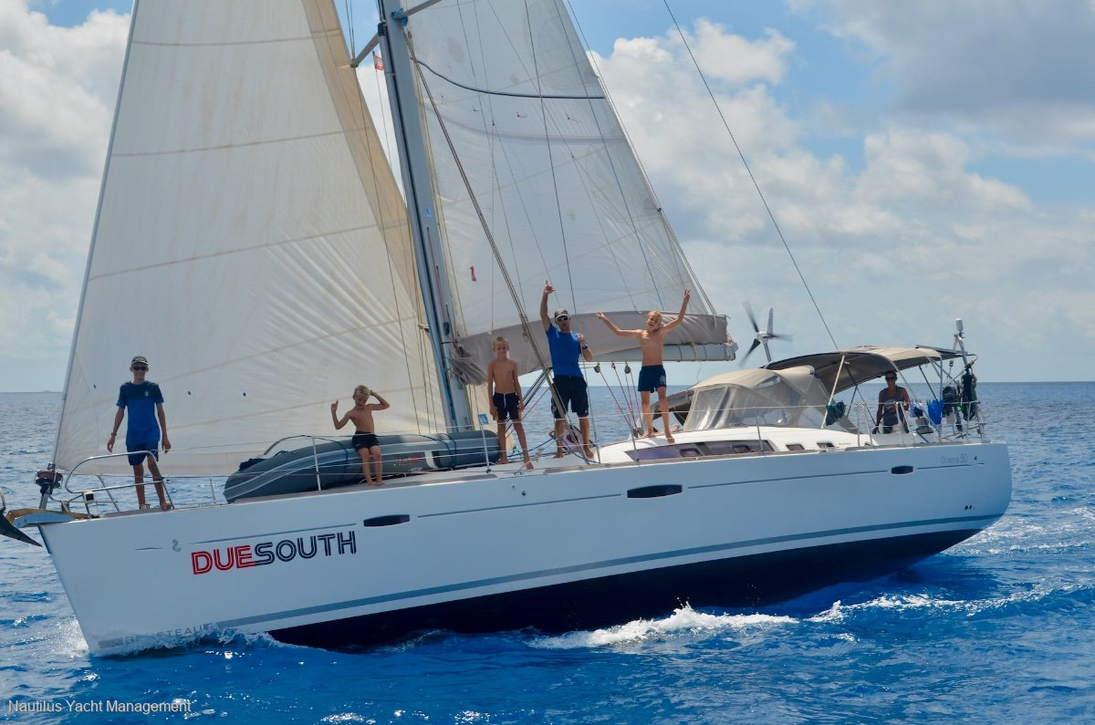 Beneteau Oceanis 50 3 cabin 2 head version. Never chartered.