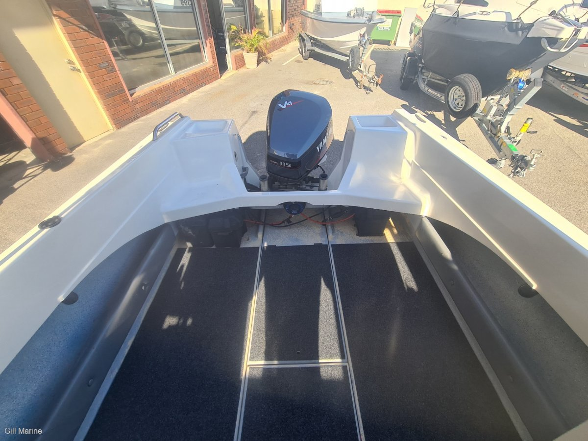 """Baron Sportsman """"low hours"""" very clean fishing boat!"""