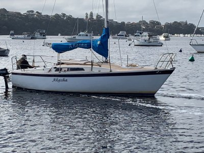Cole 23 well loved, ready.. Set... Sail.. Mooring included