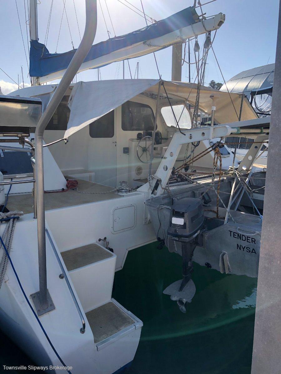Bruce Geddes 35 Sailing Catamaran Full Cabin