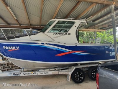 Sea Jay 7.2 Pursuit GS Plate Xtreme